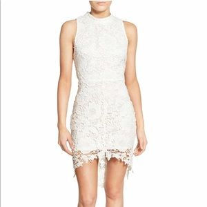 Astr Dresses - ASTR (Brand) White Lace Dress, Size Large